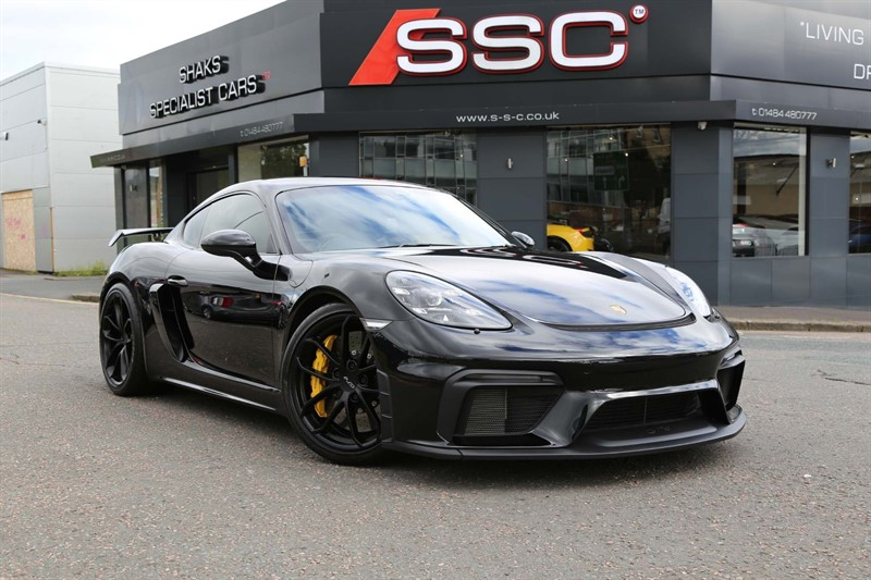 used Porsche 718 Cayman GT4 (s/s) in huddersfield-west-yorkshire