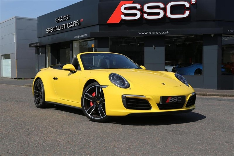 used Porsche 911 991 Carrera 4S Cabriolet PDK AWD 2dr in huddersfield-west-yorkshire