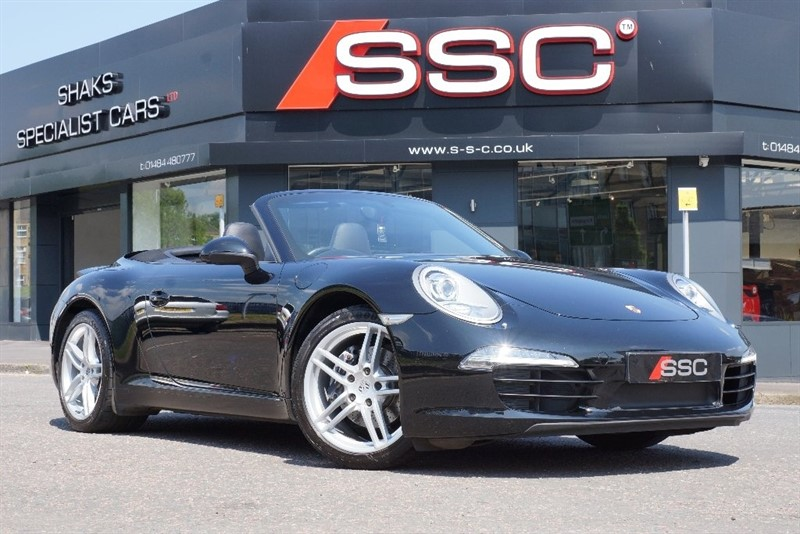 used Porsche 911 991 Carrera Cabriolet PDK 2dr in yorkshire