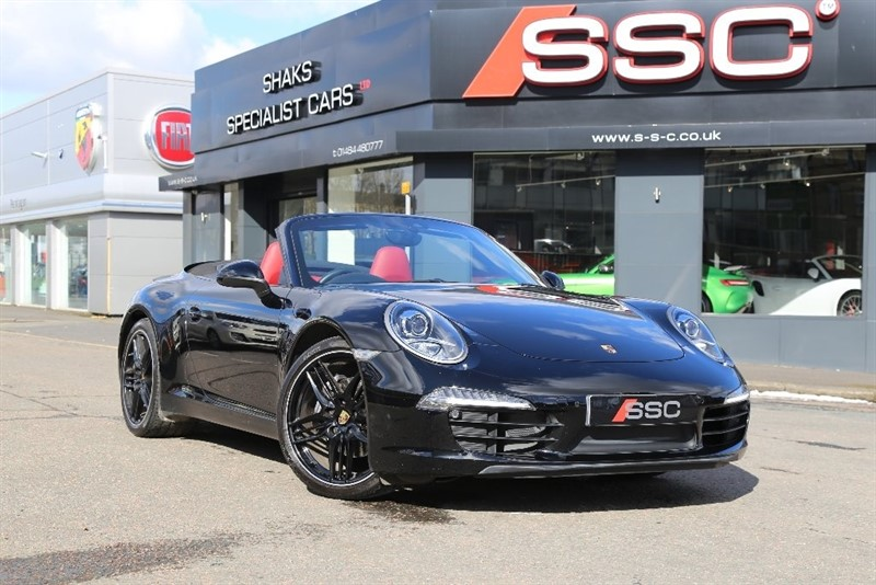 used Porsche 911 991 Carrera Cabriolet PDK 2dr in huddersfield-west-yorkshire