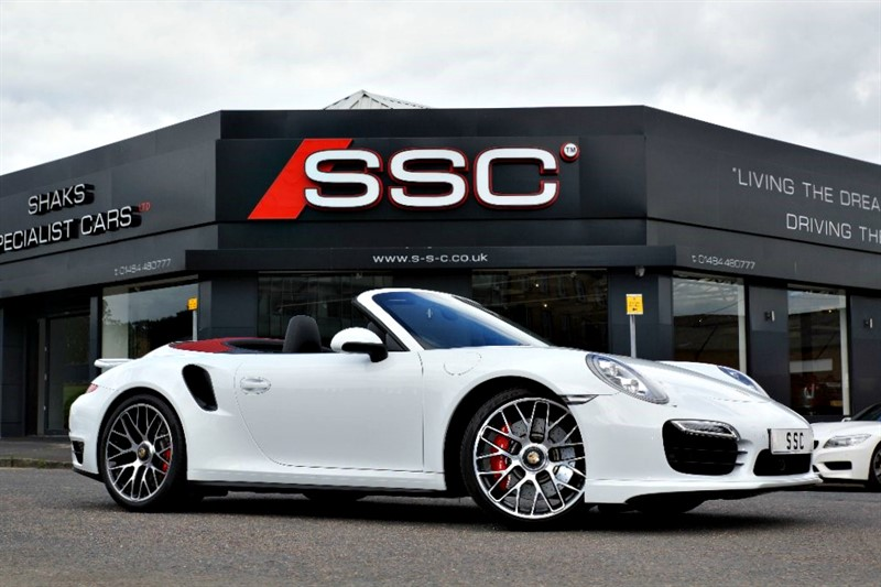 used Porsche 911 991 Turbo PDK AWD 2dr in yorkshire