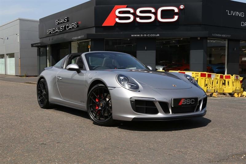 used Porsche 911 3.0T 991 4 GTS Targa PDK 4WD (s/s) in huddersfield-west-yorkshire