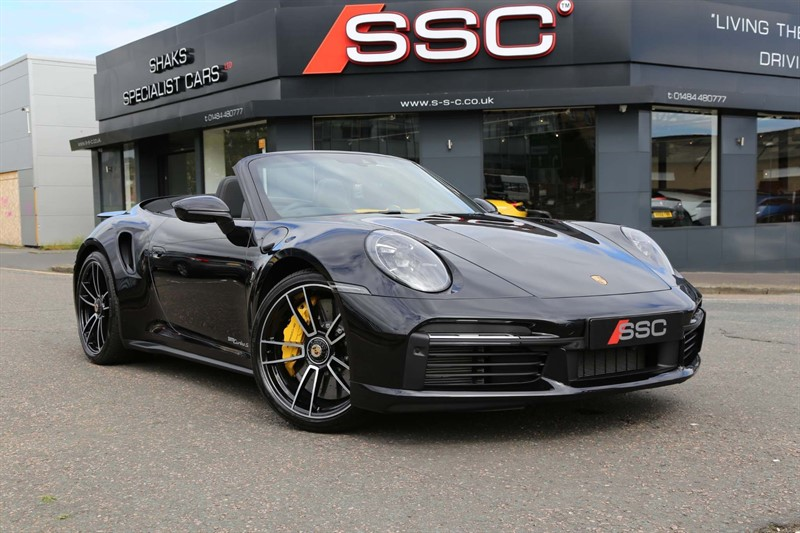 used Porsche 911 3.8T 992 Turbo S PDK 4WD (s/s) in huddersfield-west-yorkshire