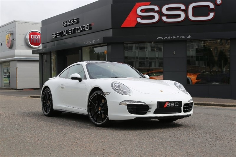 used Porsche 911 991 Carrera 4 PDK AWD 2dr in yorkshire