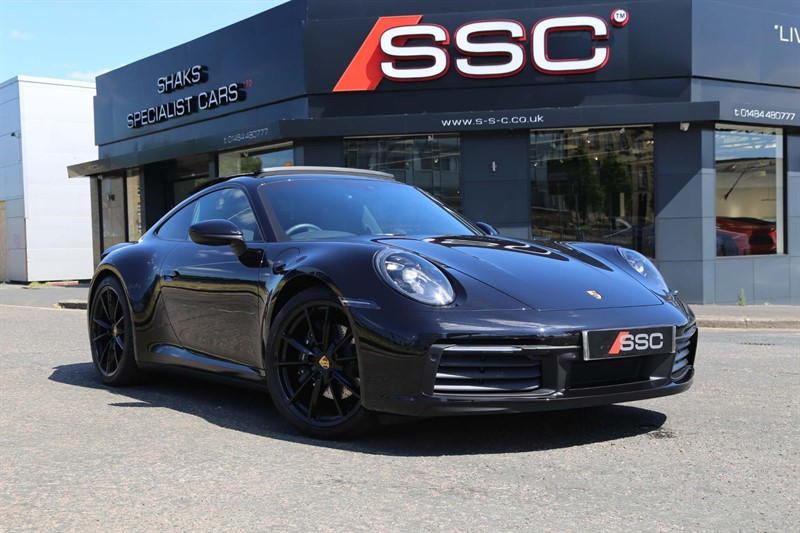 used Porsche 911 3.0T 992 Carrera 4 PDK 4WD (s/s) in huddersfield-west-yorkshire