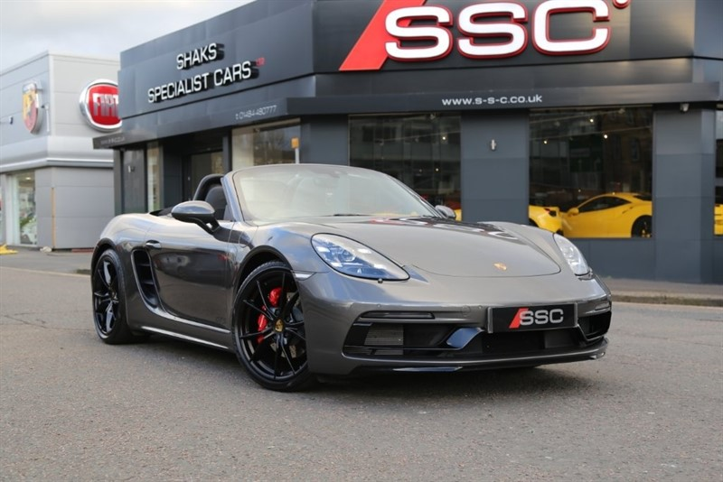 used Porsche 718 Boxster GTS PDK (s/s) 2dr in huddersfield-west-yorkshire