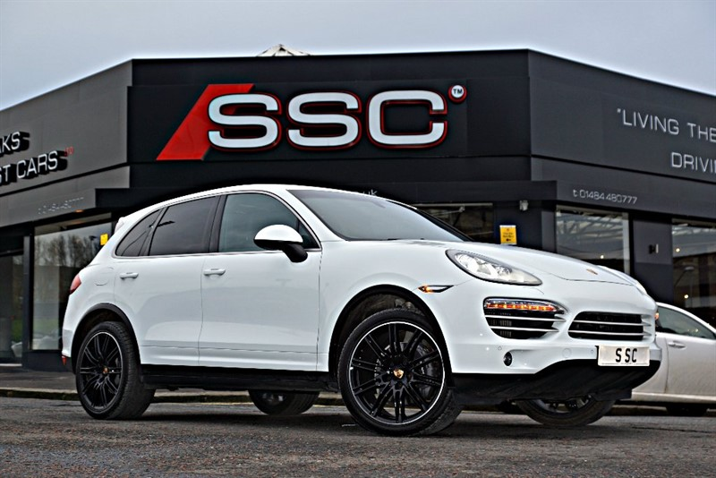 used Porsche Cayenne TD V6 Platinum Edition Tiptronic S AWD 5dr (start/stop) in yorkshire