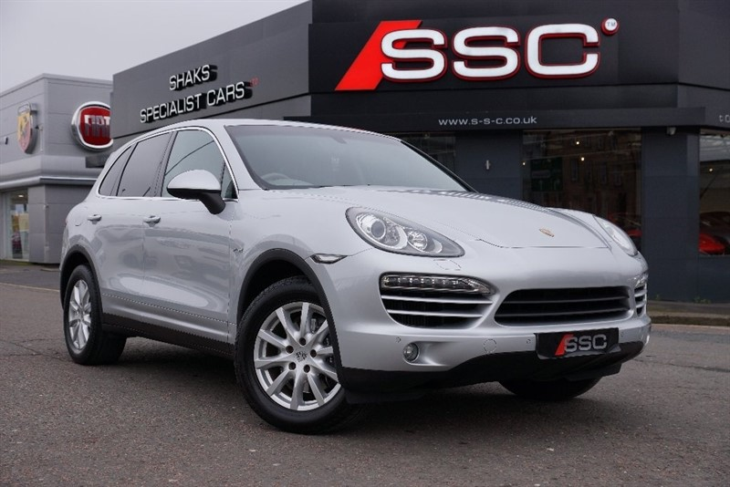 used Porsche Cayenne TD Tiptronic S AWD 5dr in yorkshire
