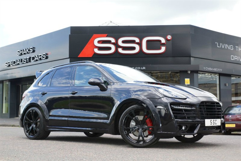 used Porsche Cayenne S 5dr Tiptronic in yorkshire