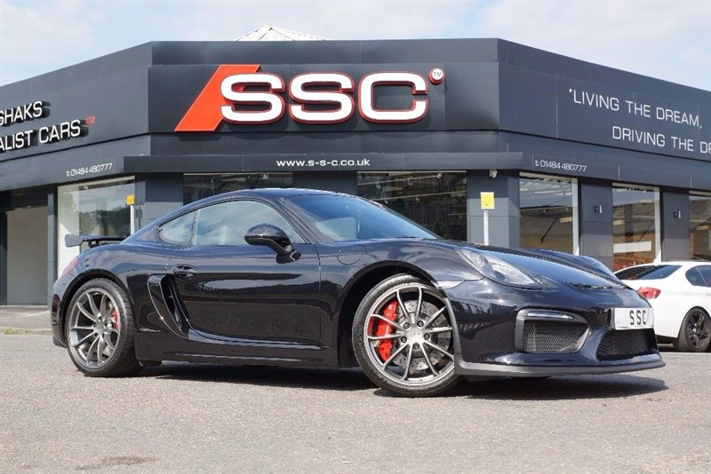 used Porsche Cayman 3.8 981 GT4 2dr in yorkshire