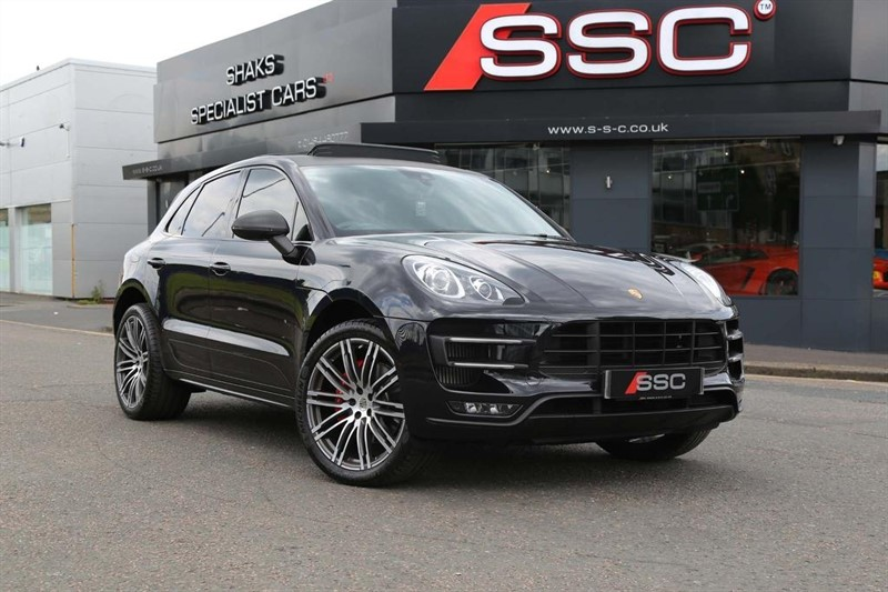 used Porsche Macan Turbo PDK AWD 5dr in huddersfield-west-yorkshire