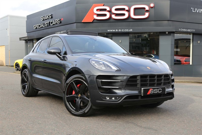 used Porsche Macan 3.6T Turbo PDK 4WD (s/s) in huddersfield-west-yorkshire