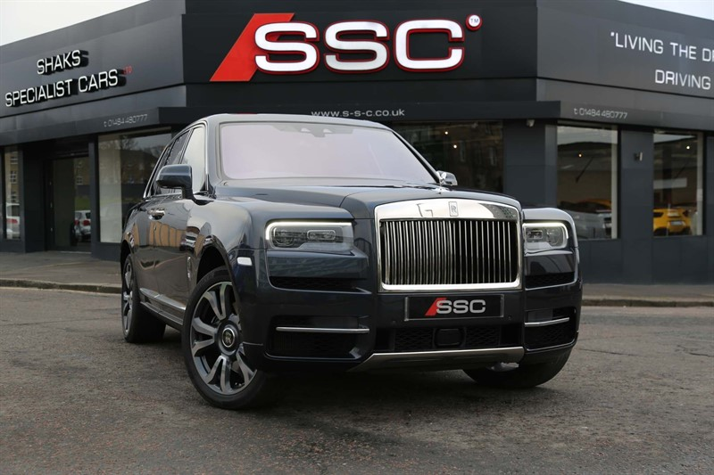 used Rolls-Royce Cullinan 6.75 V12 Auto 4WD 5dr in huddersfield-west-yorkshire