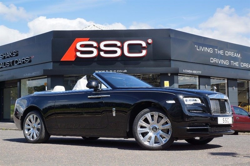 used Rolls-Royce Dawn 6.6 2dr in yorkshire