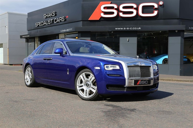 used Rolls-Royce Ghost V12 Auto 4dr in huddersfield-west-yorkshire