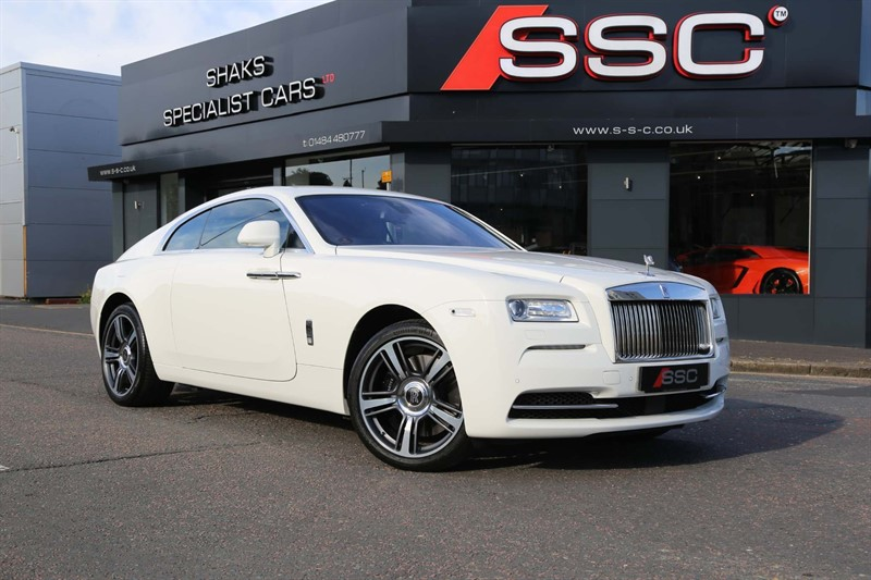 used Rolls-Royce Wraith V12 Auto in huddersfield-west-yorkshire