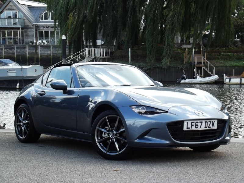used Mazda MX-5 sportnav auto in twickenham-middlesex-london