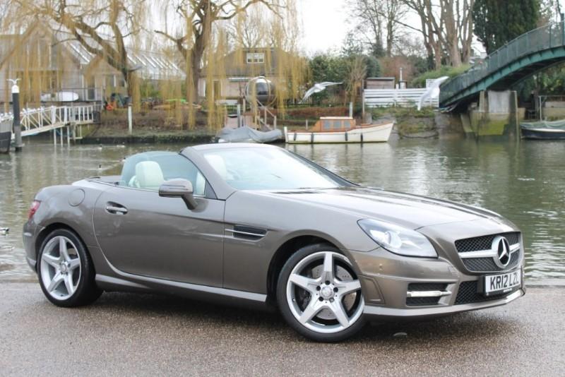 used Mercedes SLK SLK250 BLUEEFFICIENCY AMG SPORT in twickenham-middlesex-london