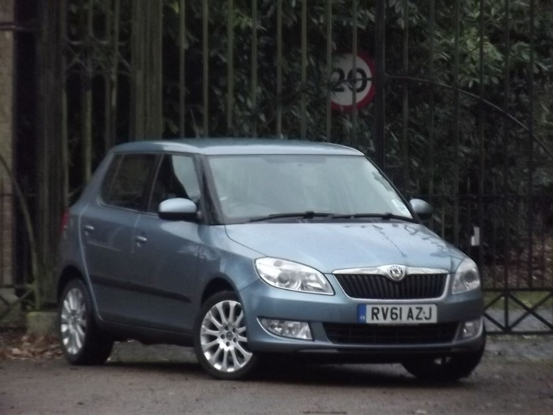 used Skoda Fabia ELEGANCE TDI CR in twickenham-middlesex-london
