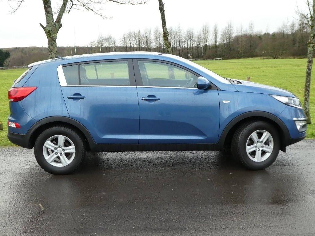 used blue kia sportage for sale gwent. Black Bedroom Furniture Sets. Home Design Ideas