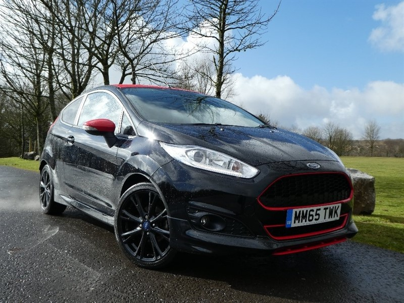 used Ford Fiesta T EcoBoost Zetec S Black Edition (s/s) 3dr in ebbw-vale