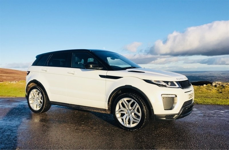 used Land Rover Range Rover Evoque TD4 HSE Dynamic AWD 5dr in ebbw-vale