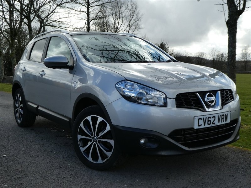 used Nissan Qashqai dCi N-TEC+ 4WD (s/s) 5dr in ebbw-vale
