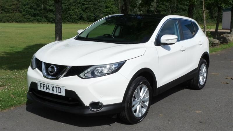 used Nissan Qashqai DIG-T Acenta Premium 5dr in ebbw-vale