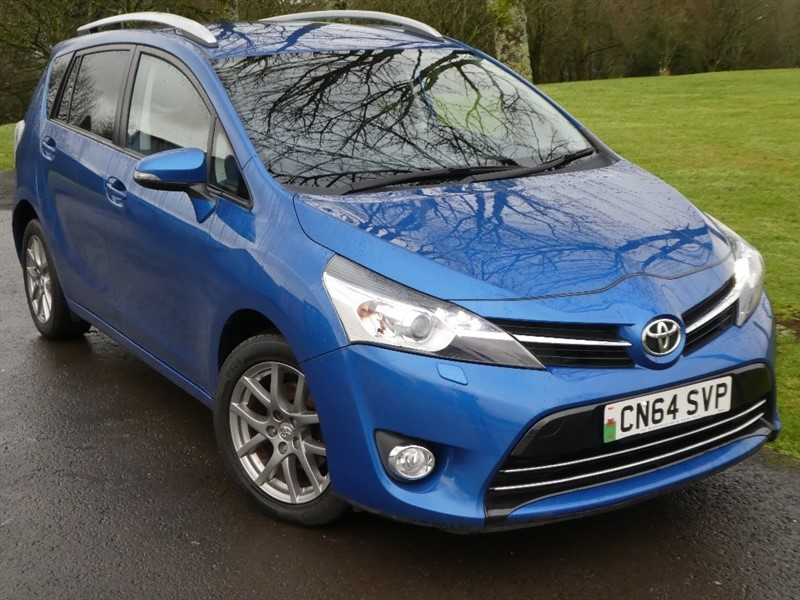 used Toyota Verso D-4D Excel 5dr in ebbw-vale