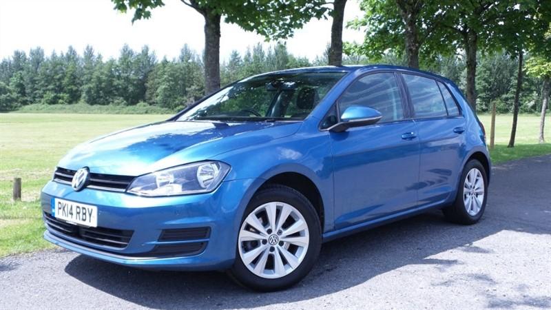used VW Golf TDI BlueMotion Tech SE Hatchback 5dr (start/stop) in ebbw-vale