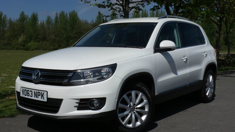 used VW Tiguan TDI BlueMotion Tech Match Station Wagon 2WD 5dr (start/stop) in ebbw-vale
