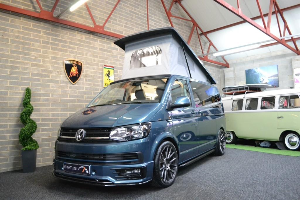 0299bf8903 Volkswagen Transporter 2.0L T6 t5 TDI 150PS AURORA EDITION H LINE NAV CAMPERVAN  4 BERTH POPTOP