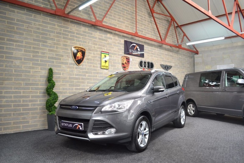 used Ford Kuga ZETEC TDCI 4x4 FACELIFT FORD WARRANTY in birstall