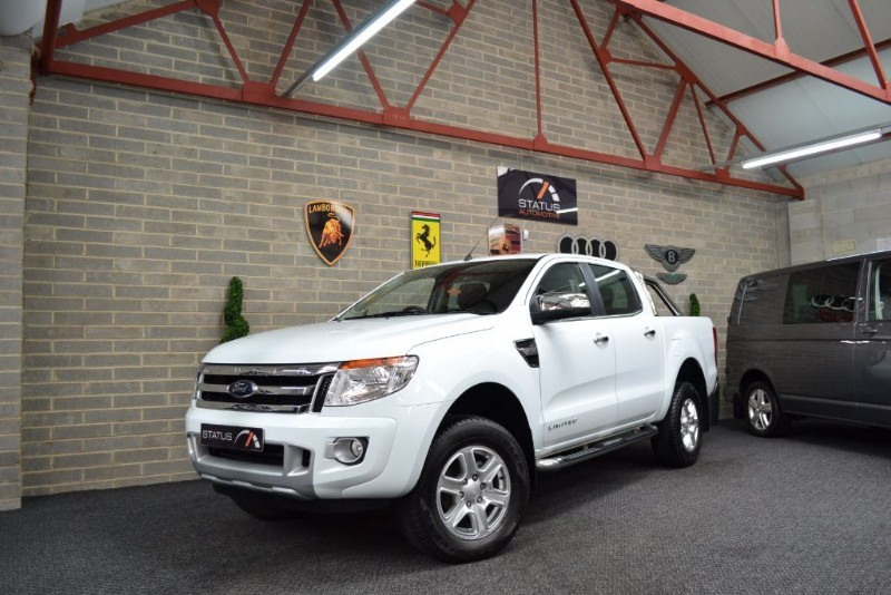 used Ford Ranger LIMITED 4X4 DCB TDCI NO VAT in birstall