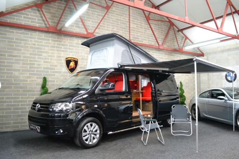 Used Black VW Transporter For Sale