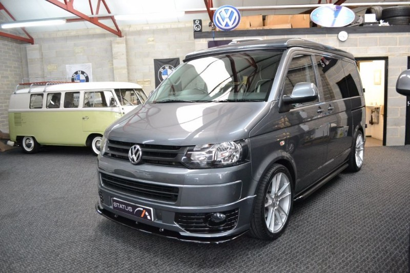 used VW Transporter T5 TDI SWB Highline 4 BERTH CAMPERVAN POPTOP in birstall