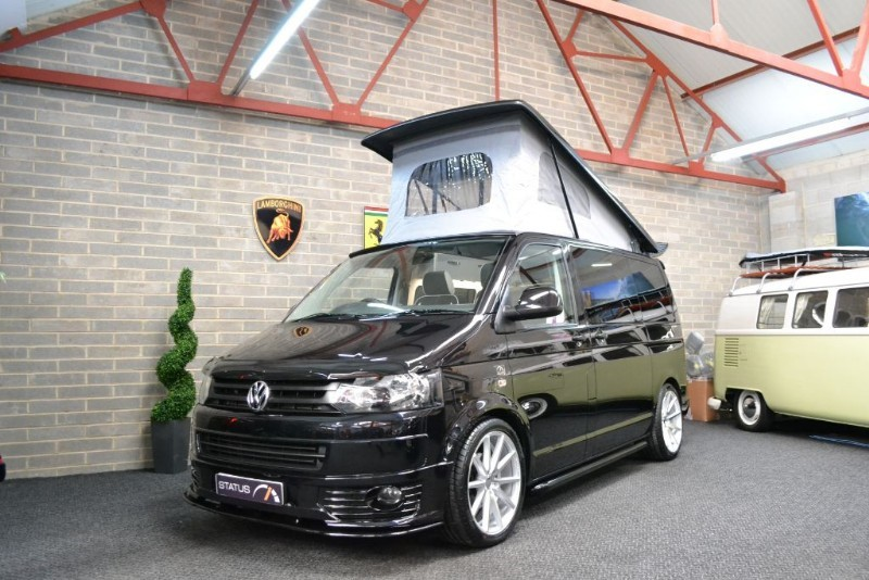 used VW Transporter T5 t6 TDI 140 BHP AURORA EDITION A/C T/GATE CAMPERVAN 4 BERTH POPTOP in birstall