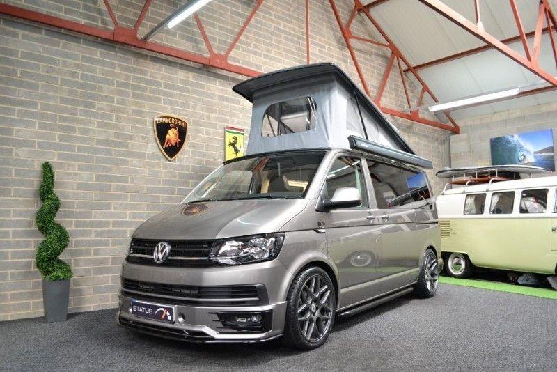 used VW Transporter T6 t5 TDI 150PS  AURORA EXCLUSIVE EDT H/LINE CAMPERVAN 4 BERTH POPTOP in birstall