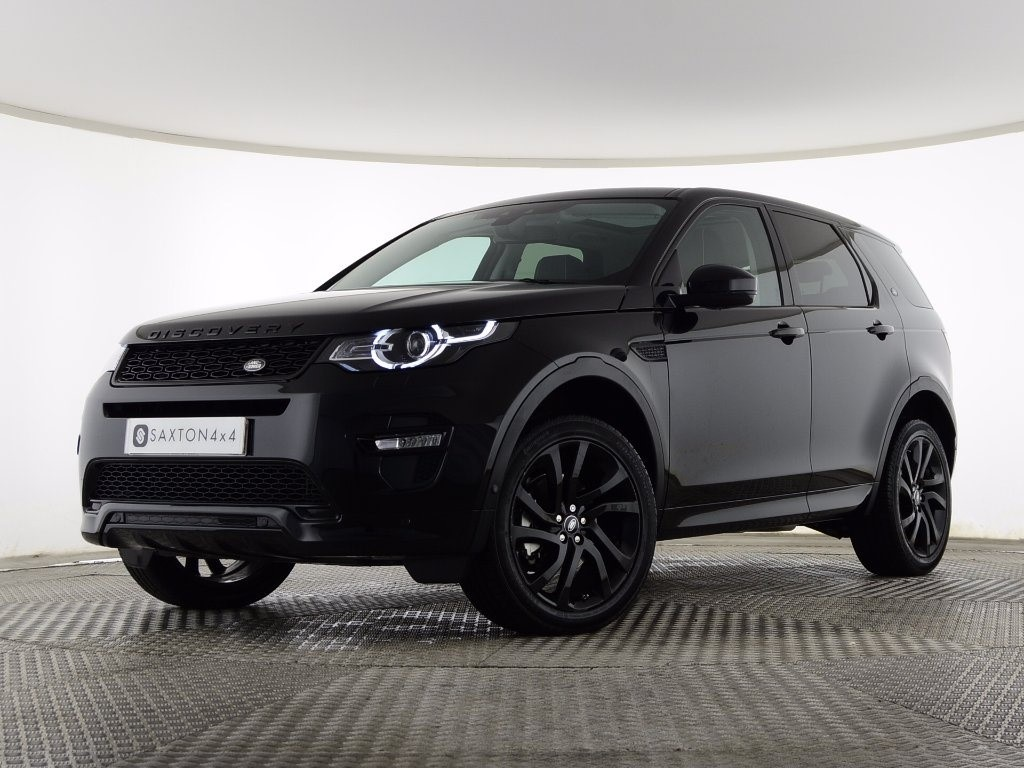 100 Land Rover Discovery Sport Black Used Santorini