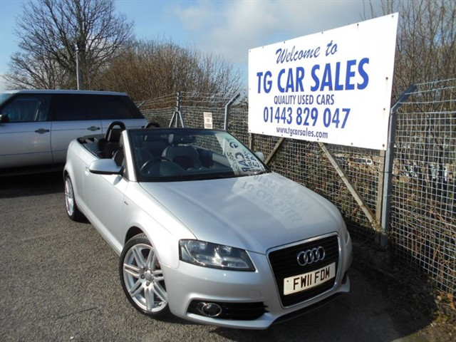 used Audi A3 TDI S Line 138 in blackwood-gwent
