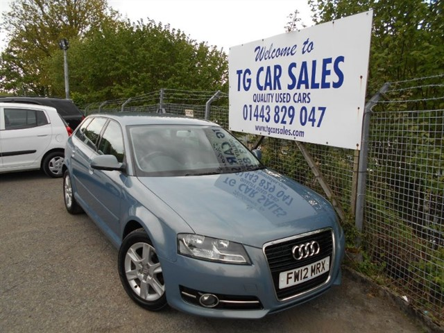 used Audi A3 TDI SE in blackwood-gwent