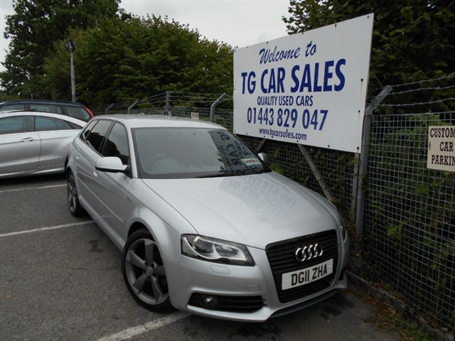 used Audi A3 Sportback TDI S LINE Special Edition 138 in blackwood-gwent