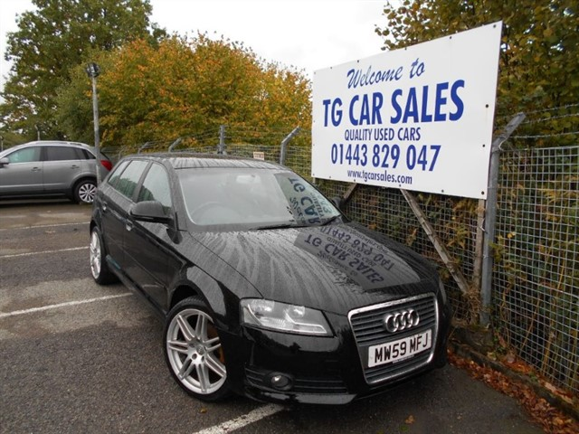 used Audi A3 Sportback TDI 138 in blackwood-gwent