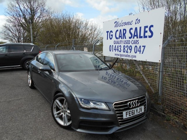 used Audi A7 TDI Quattro S Line in blackwood-gwent