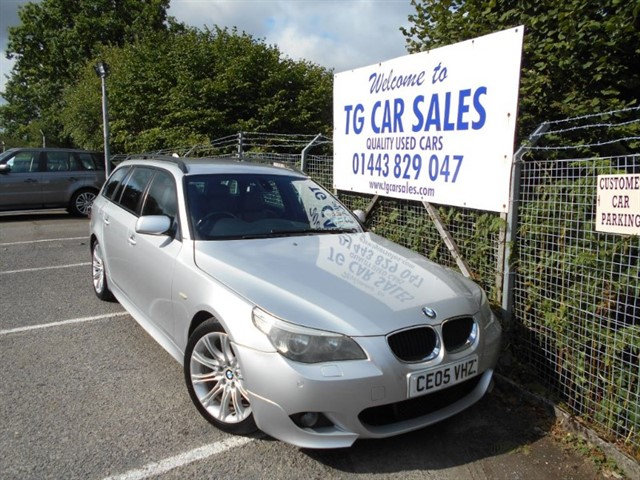 used BMW 525d Sport Touring in blackwood-gwent