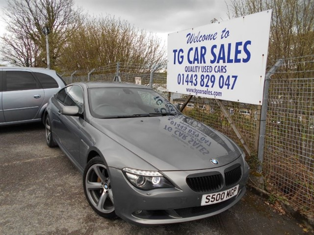 used BMW 635d Sport in blackwood-gwent