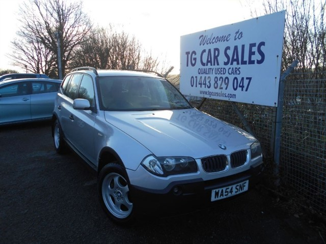 used BMW X3 D in blackwood-gwent