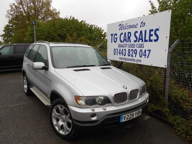used BMW X5 Sport  in blackwood-gwent