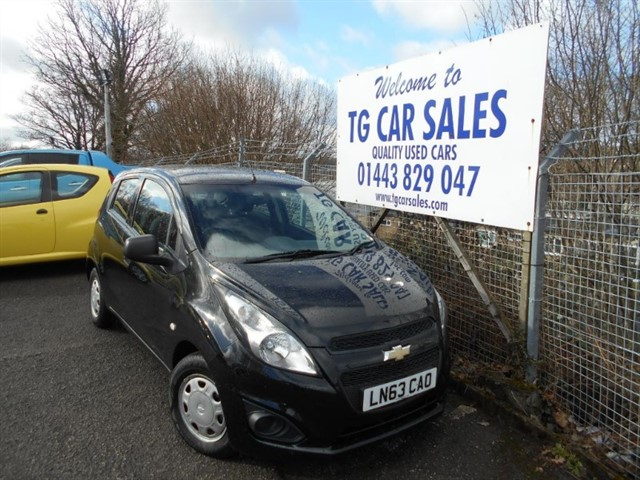 used Chevrolet Spark LS in blackwood-gwent