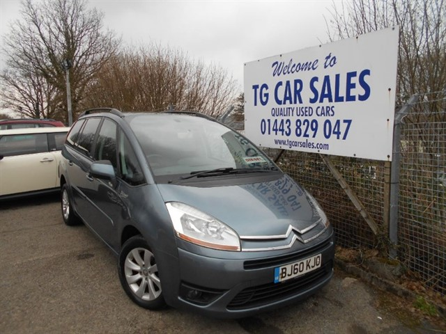 used Citroen C4 Grand Picasso VTR+ HDI in blackwood-gwent